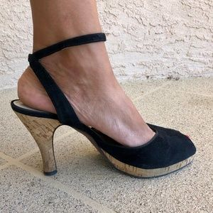 Antonio Melani Peep Toe Sandals